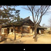 Old house in Seoul, Korea