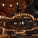 the main chandelier