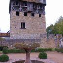 Castle's fountain