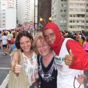 Corrida de Sao Silvestre 2010 3D - Sao Paulo
