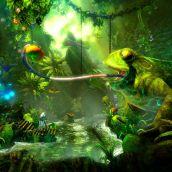 Trine 2. Giant frog
