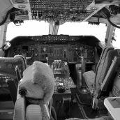 Cockpit Boeing 747 3D