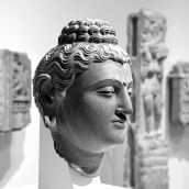 Buddha-head Rijksmuseum 3D