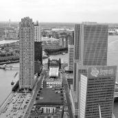 View from Maastoren Rotterdam 3D