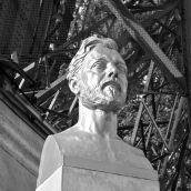 Statue Gustave Eiffel 3D
