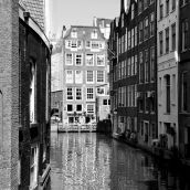 canal Amsterdam 3D