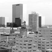 View from Laurenstoren Rotterdam 3D