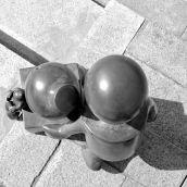 Tom Otterness bronze 3D