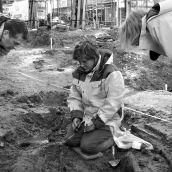 Opgravingen St.Laurenskerk Rotterdam 3D