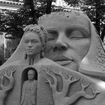 sand sculpture The Hague 3D
