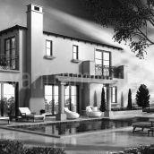 3D Exterior Design Pool View