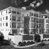 Executive Exterior Condo Apartment Back View