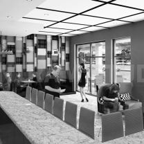 Latest versions usually Coffee Shop And Bar Interior Design