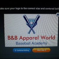 B&B Apparel World/ Baseball Academy