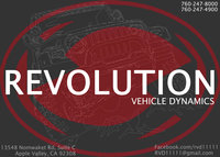 Revolution Vehicle Dynamics