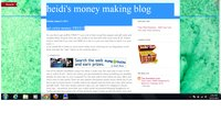 heidis money making blog
