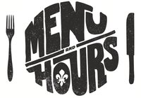 Menu and Hours