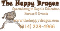 The Happy Dragon logo