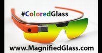 Google Glass Colored Shades