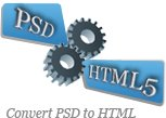 PSD to HTML Five