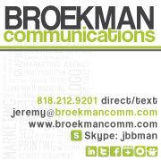 BROEKMAN communications