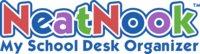 NeatNook School Desk Organzier