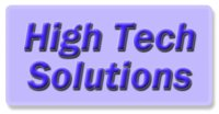High Tech Solutions logo