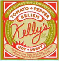 Kelly's Tomato & Pepper Relish