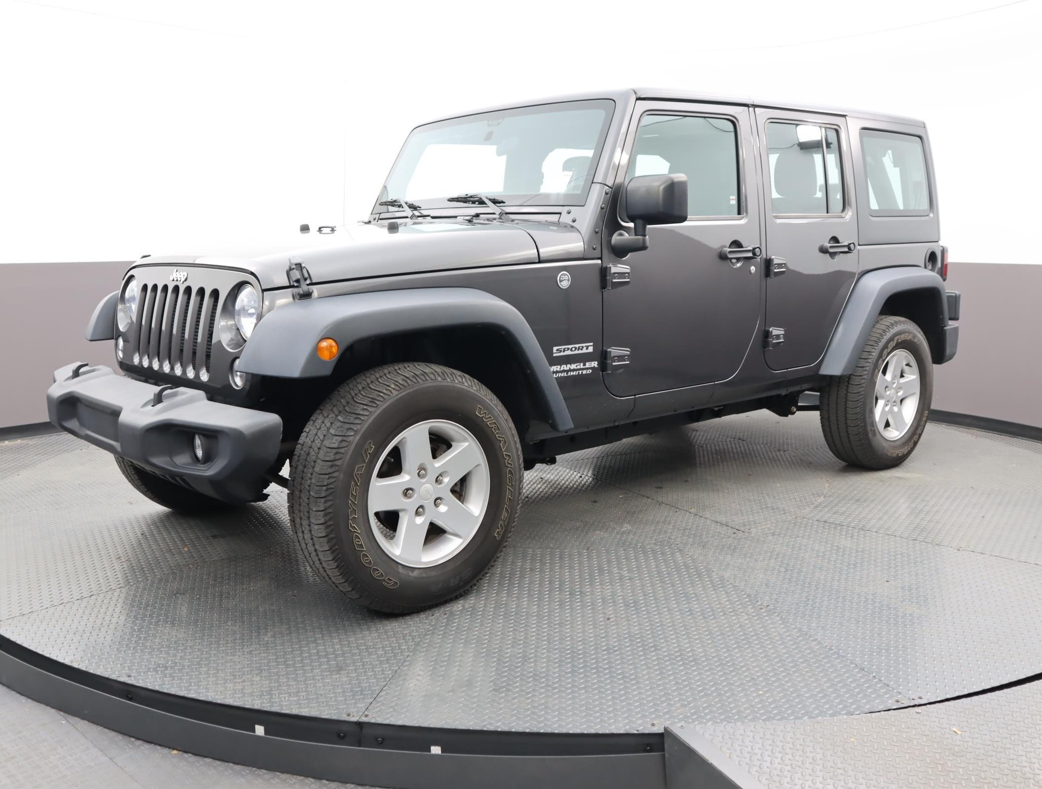 Used JEEP WRANGLER-UNLIMITED 2017 MIAMI SPORT