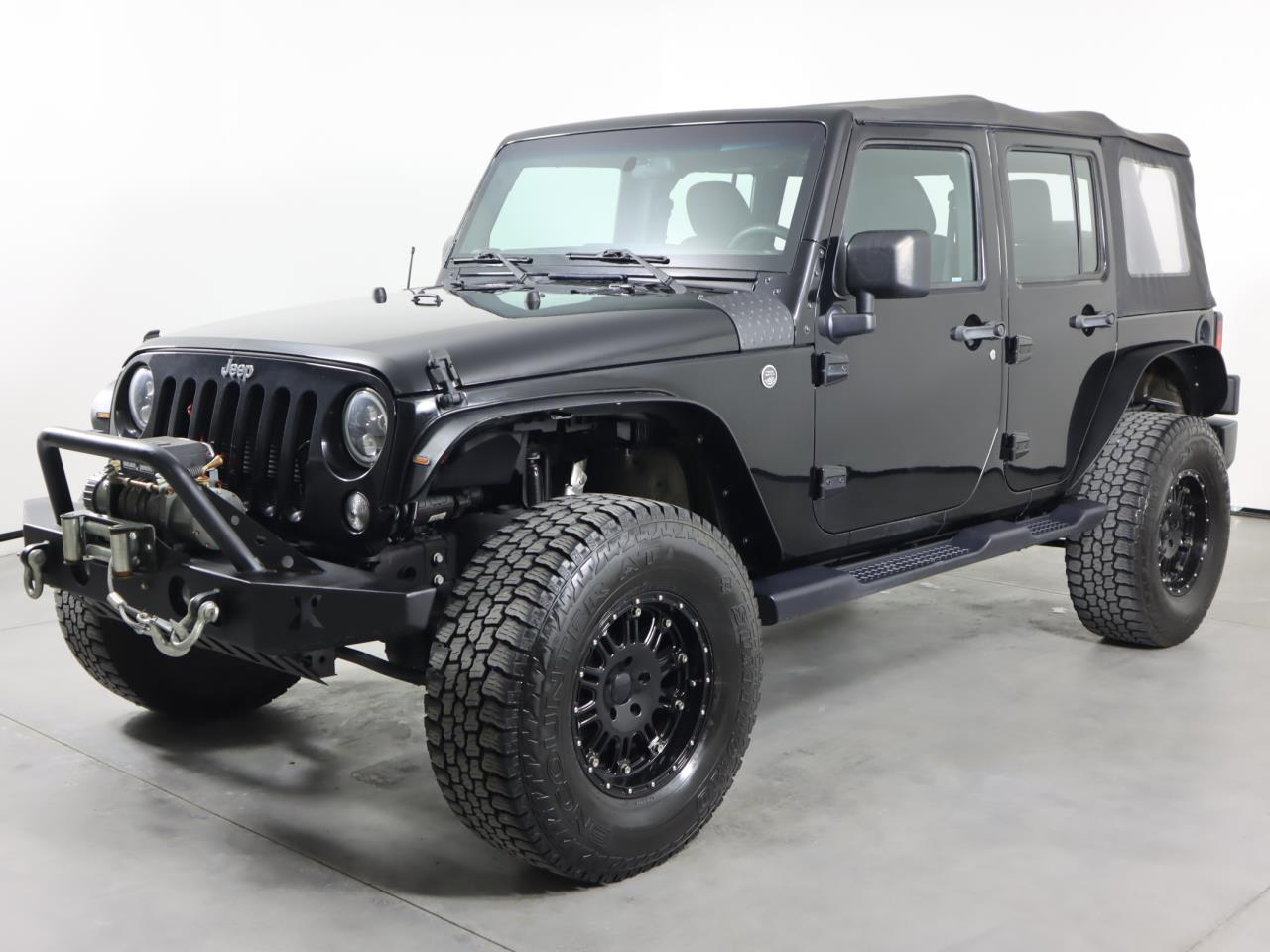 Used JEEP WRANGLER-UNLIMITED 2017 SAN ANTONIO SPORT