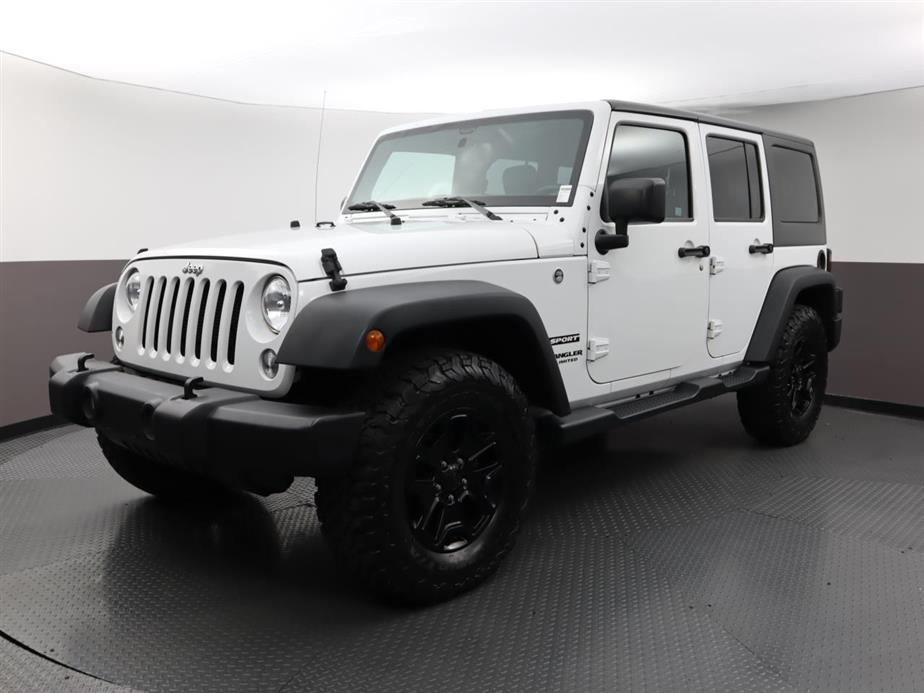 Used JEEP WRANGLER-UNLIMITED 2017 WEST PALM SPORT