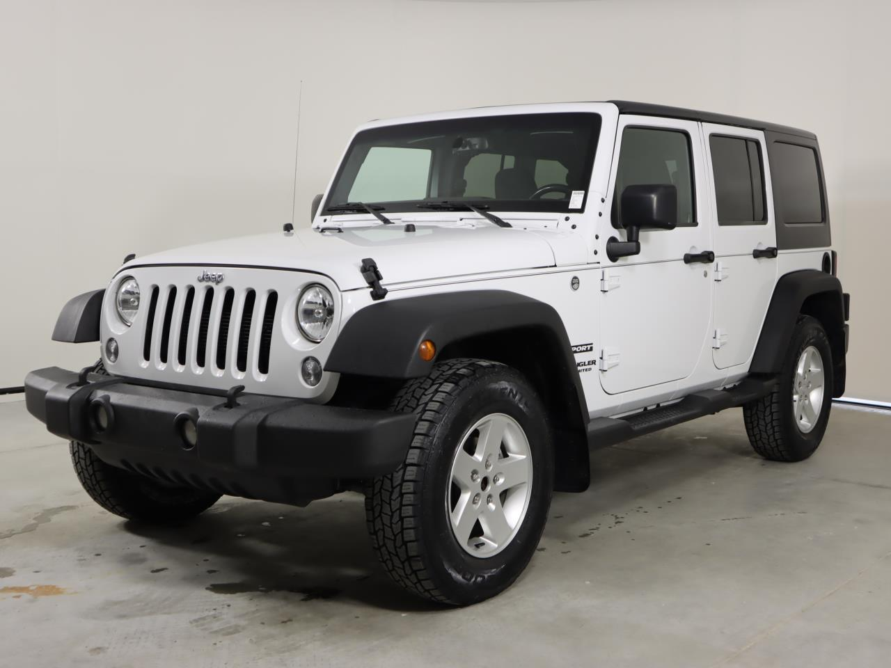 Used JEEP WRANGLER-UNLIMITED 2016 SAN ANTONIO SPORT