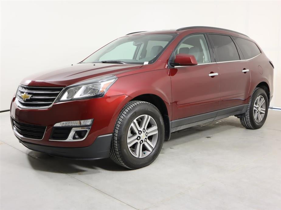 Used CHEVROLET TRAVERSE 2017 SAN ANTONIO LT