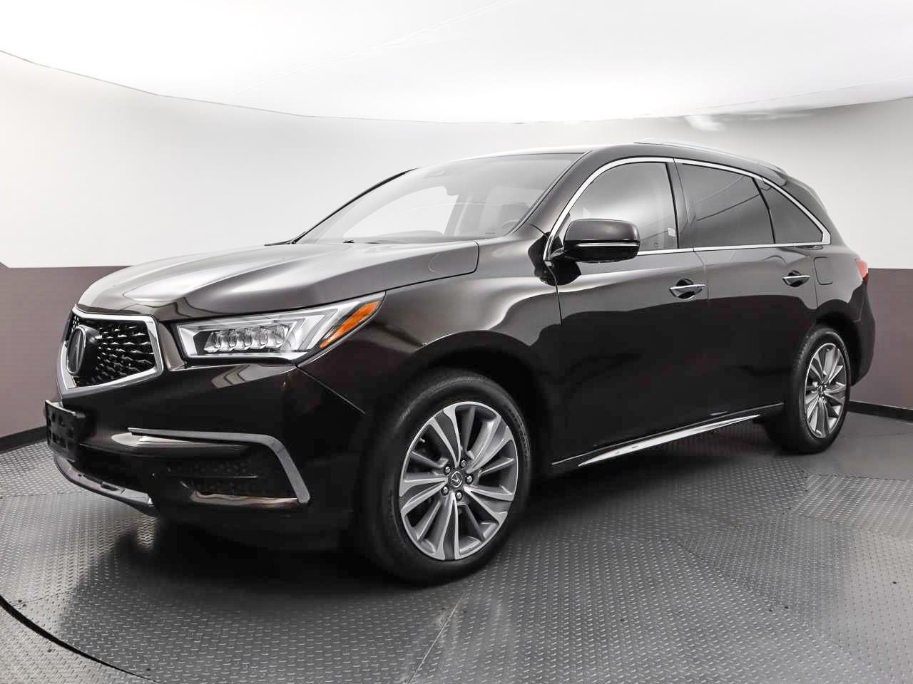 Used ACURA MDX 2018 WEST PALM W/TECHNOLOGY PKG