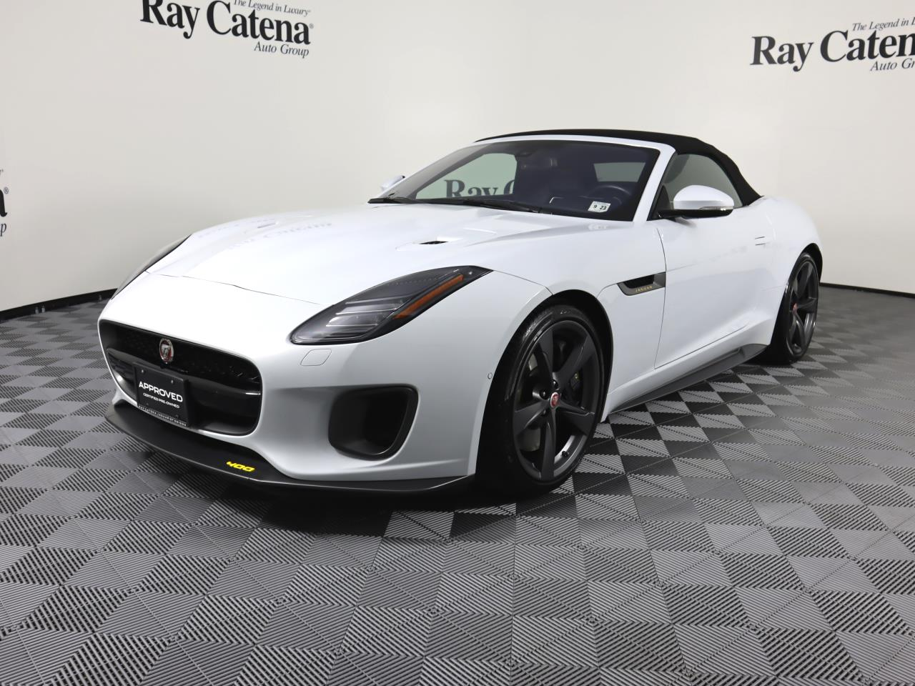 Certified Pre-Owned 2018 Jaguar F-TYPE Convertible Auto 400 Sport AWD
