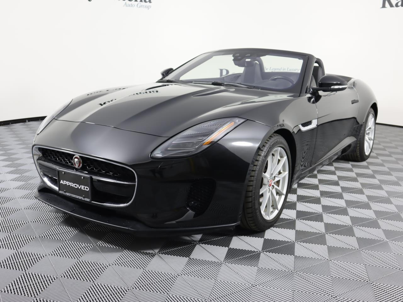 Certified Pre-Owned 2018 Jaguar F-TYPE Convertible Auto 296HP