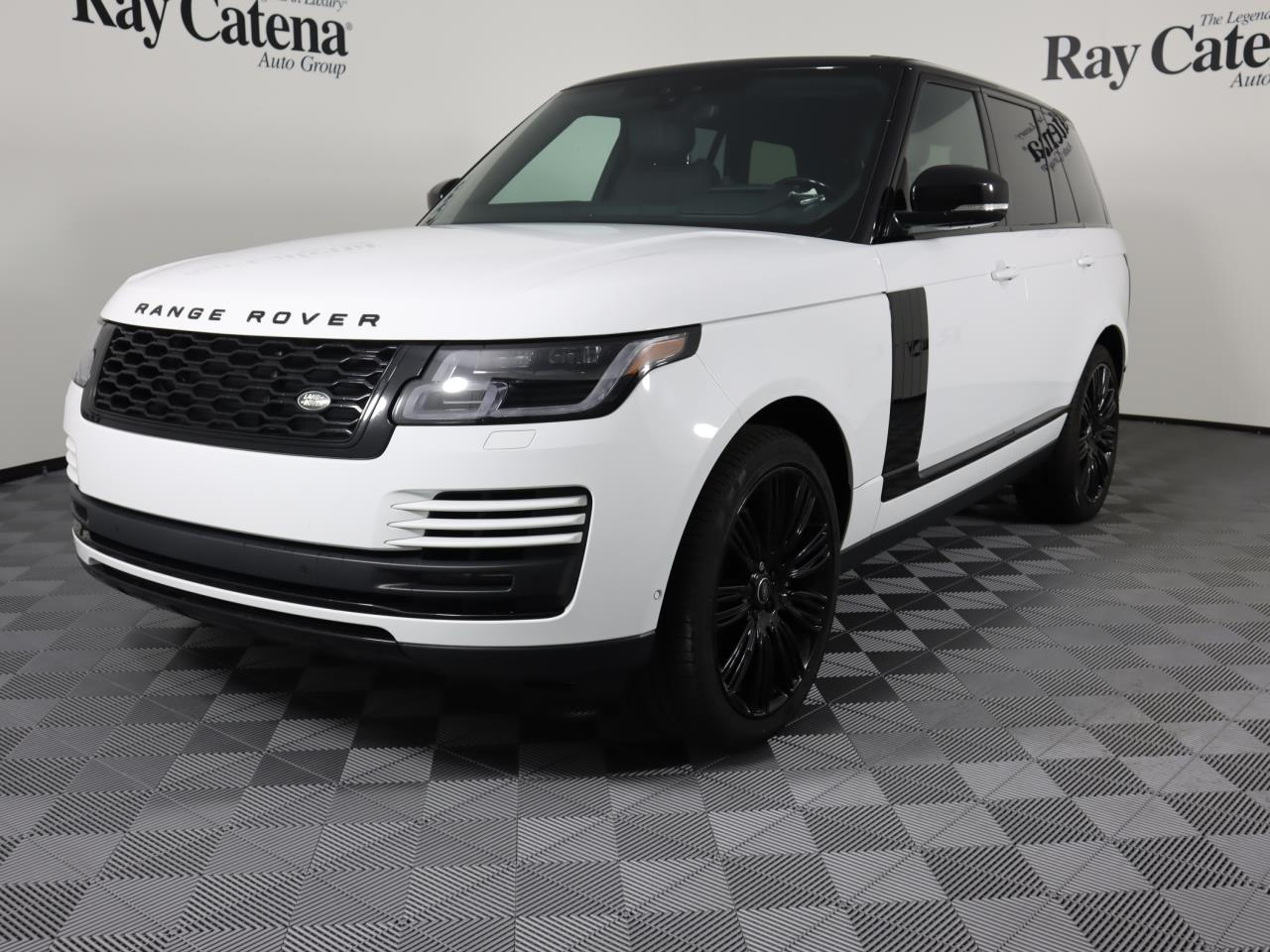 Certified Pre-Owned 2020 Land Rover Range Rover P525 HSE