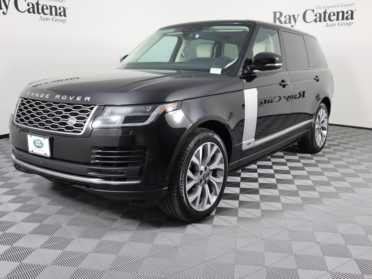 Certified Pre-Owned 2018 Land Rover Range Rover V8 Supercharged LWB