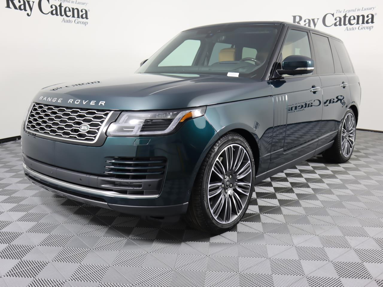 New 2021 Land Rover Range Rover 5.0L V8 Supercharged Autobiography