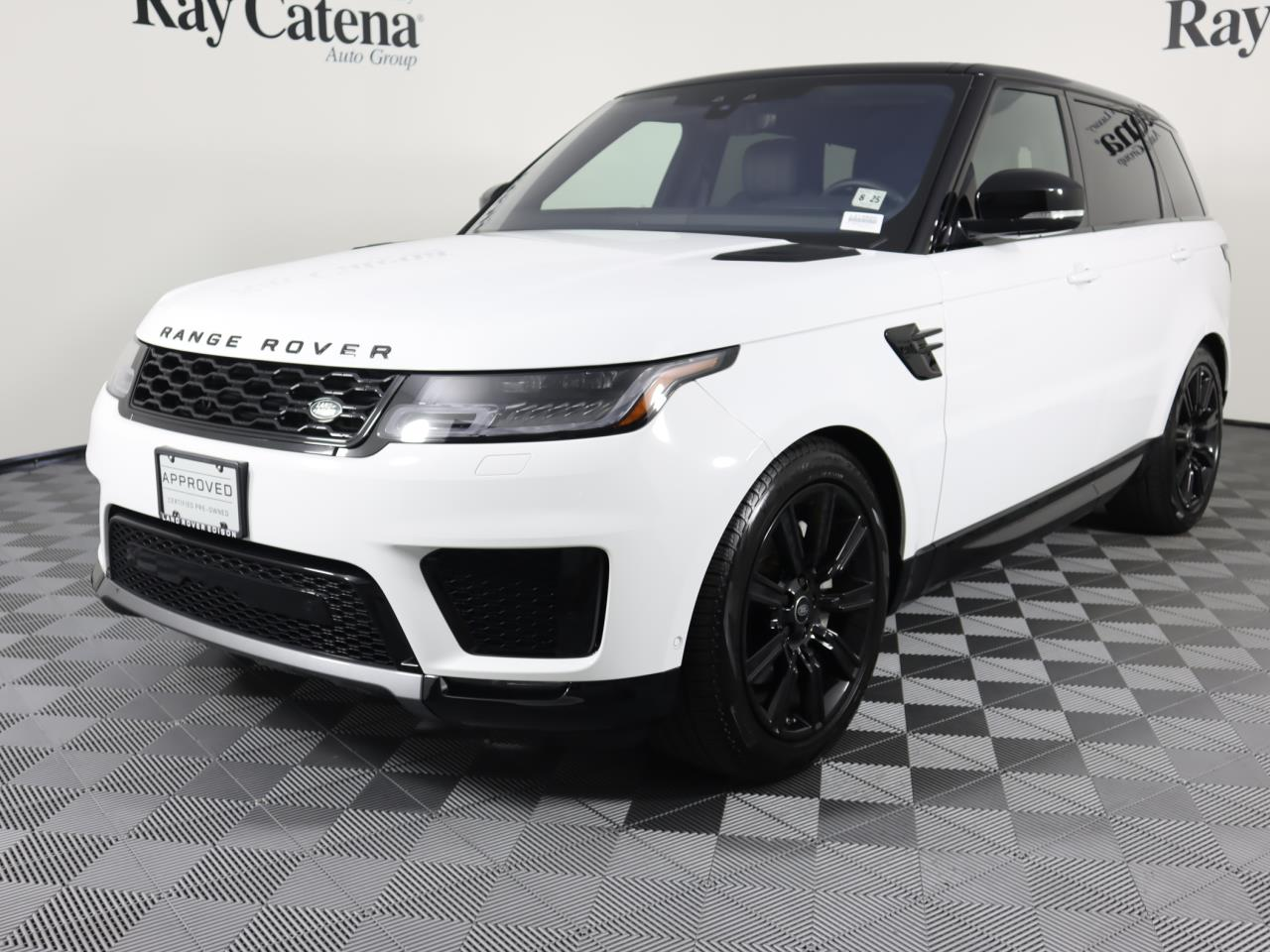 Certified Pre-Owned 2020 Land Rover Range Rover Sport HSE Td6