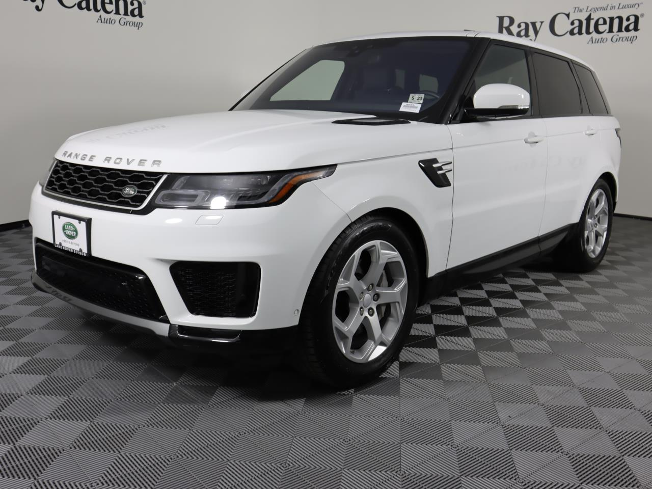 Certified Pre-Owned 2018 Land Rover Range Rover Sport V6 Supercharged HSE