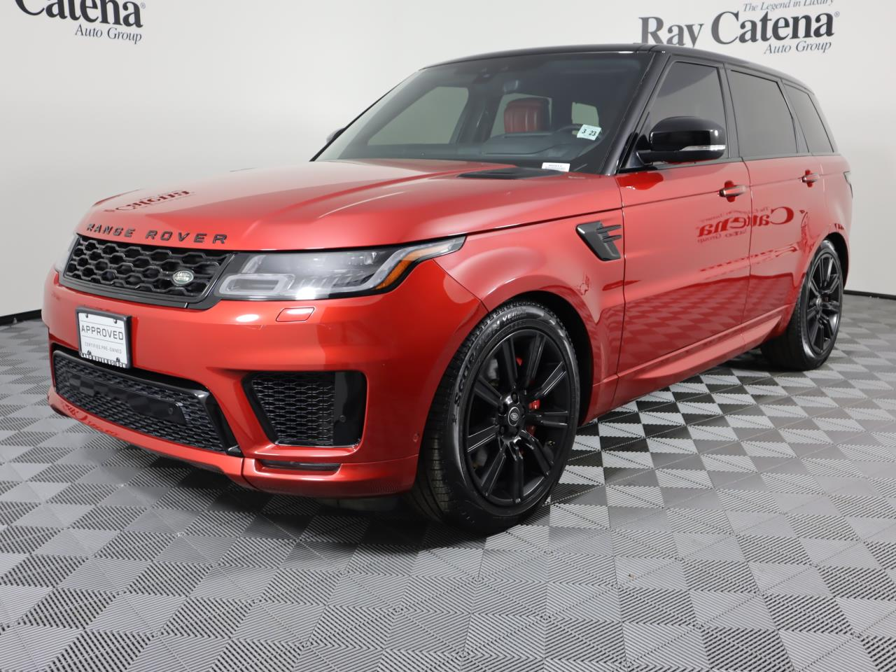 Certified Pre-Owned 2018 Land Rover Range Rover Sport V6 Supercharged HSE Dynamic