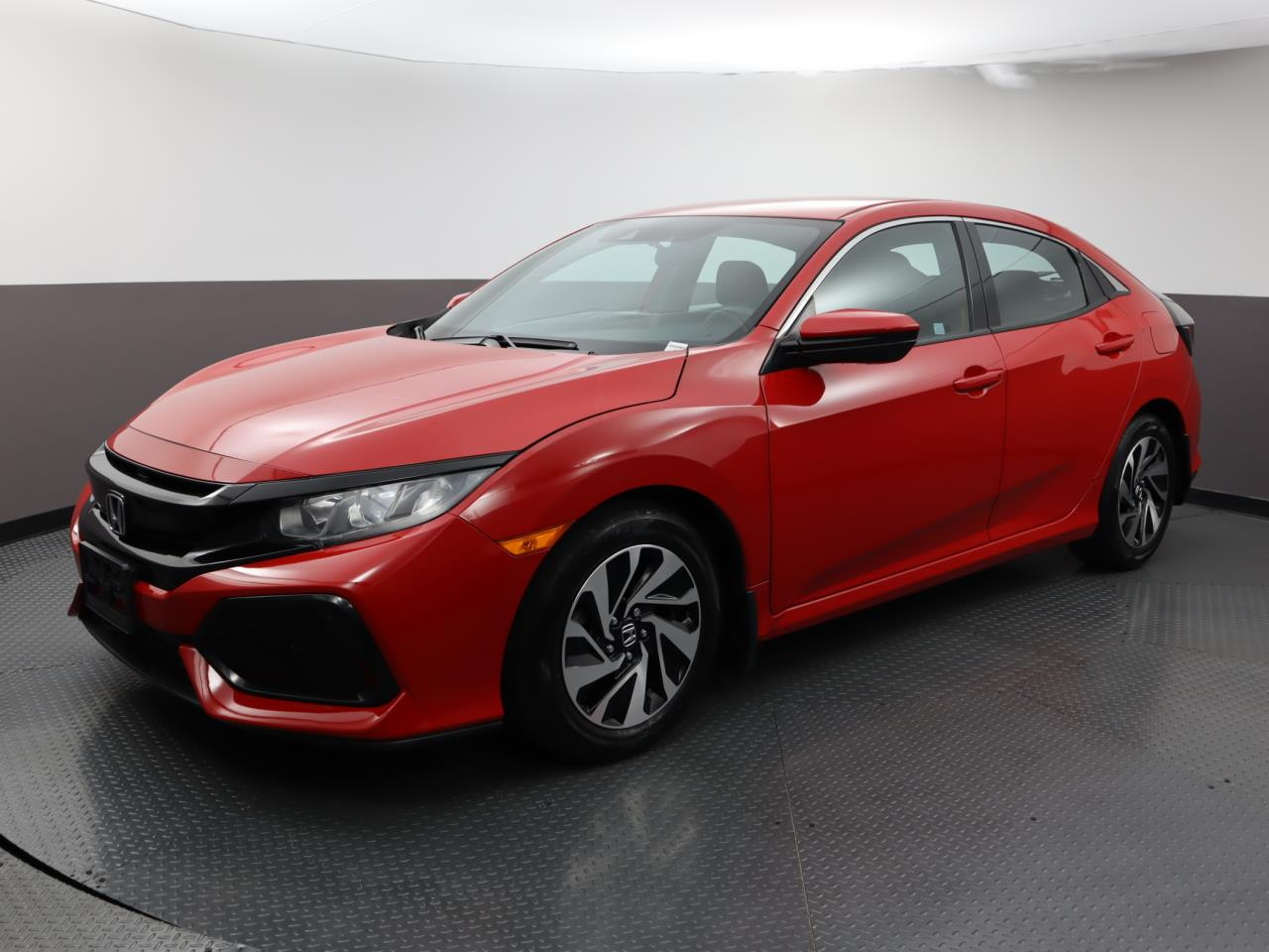 Used HONDA CIVIC-HATCHBACK 2017 WEST PALM LX