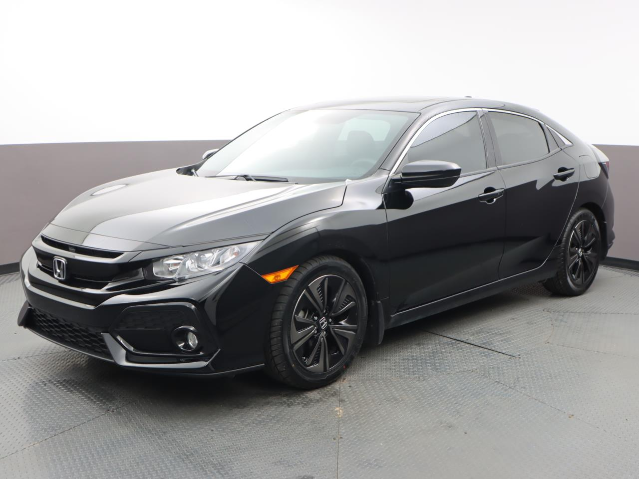 Used HONDA CIVIC-HATCHBACK 2019 MIAMI EX