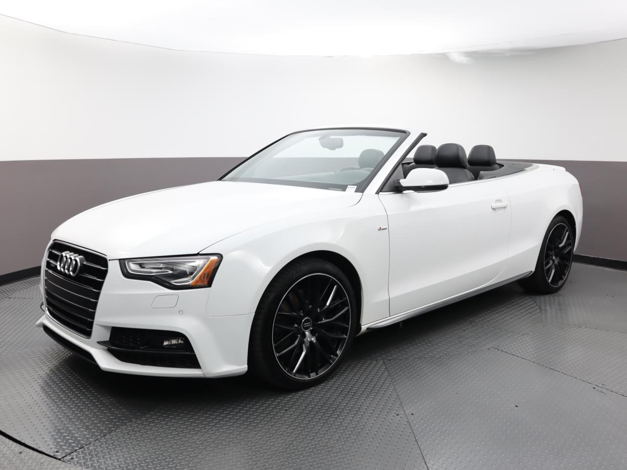 Used AUDI A5-CABRIOLET 2017 WEST PALM SPORT