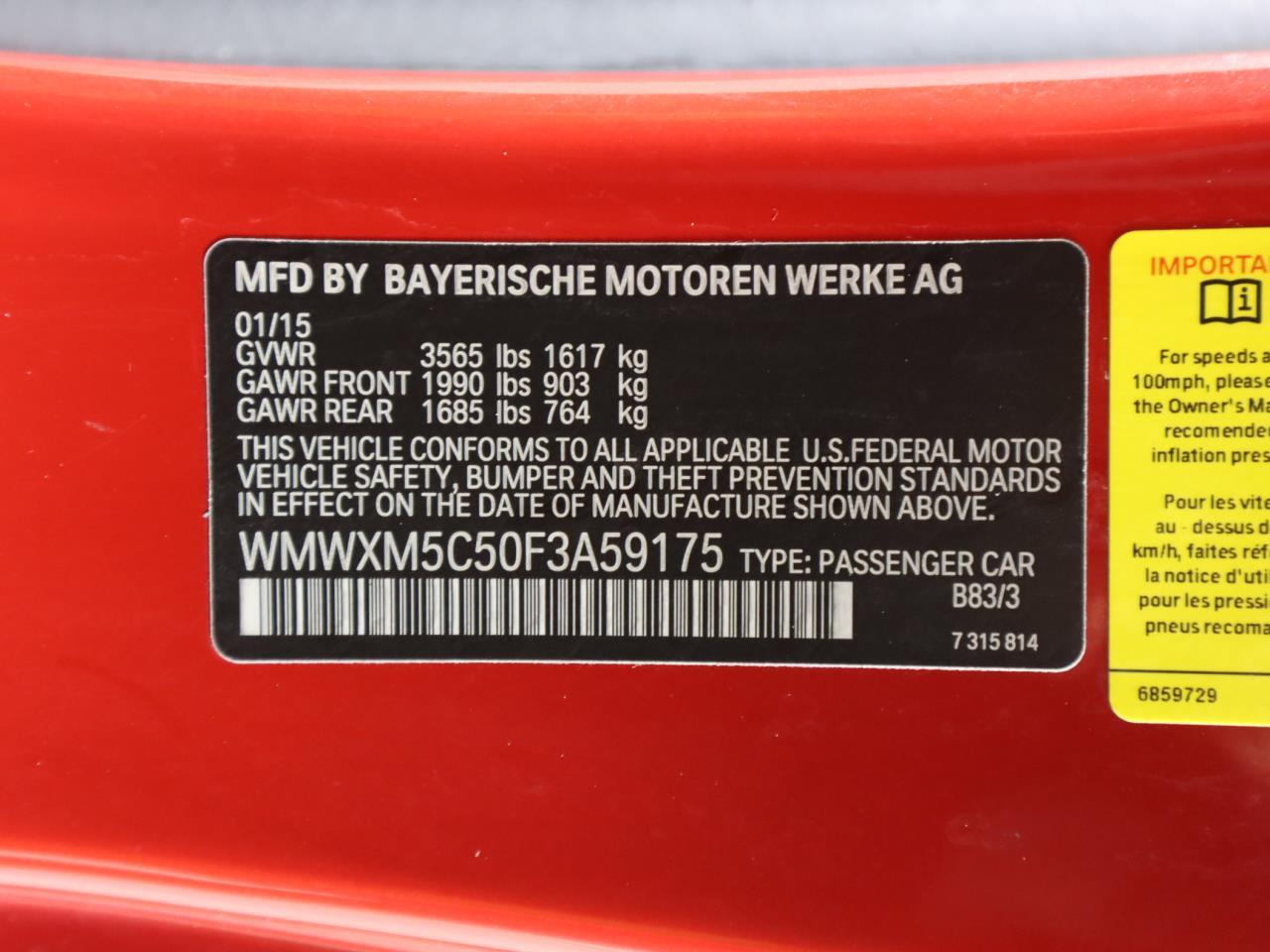 used vehicle - Coupe MINI COOPER HARDTOP 2015