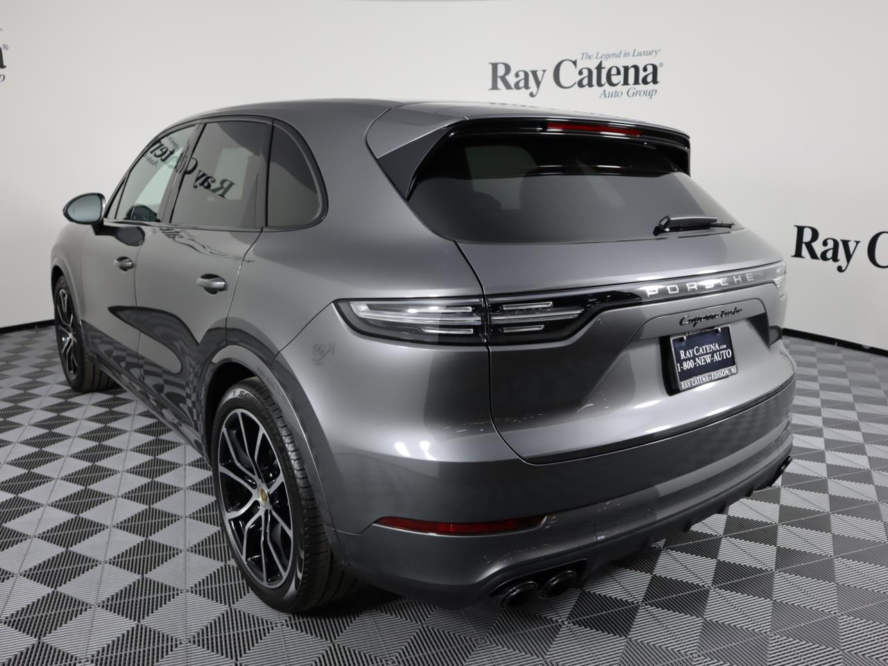 New 2021 Porsche Cayenne Turbo
