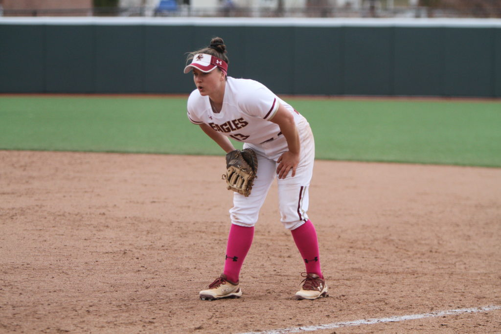 Eagles Struggle Offensively in Senior Day Loss to Virginia Tech