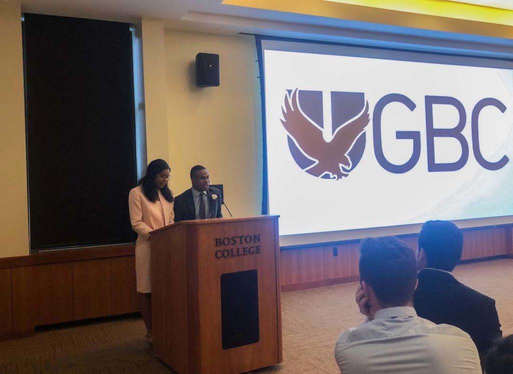 Osaghae and Brooks Inaugurated as President, VP of UGBC