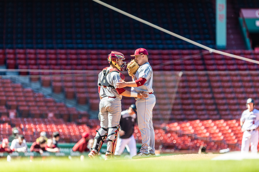 Strong Pitching Guides BC to Series Win in Blacksburg